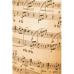 Music Notes Background 5.5  x 8.5  Notebooks