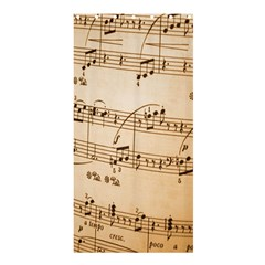 Music Notes Background Shower Curtain 36  x 72  (Stall)