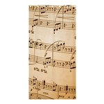 Music Notes Background Shower Curtain 36  x 72  (Stall)  33.26 x66.24 Curtain