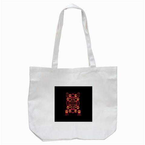 Alphabet Shirt Tote Bag (White)