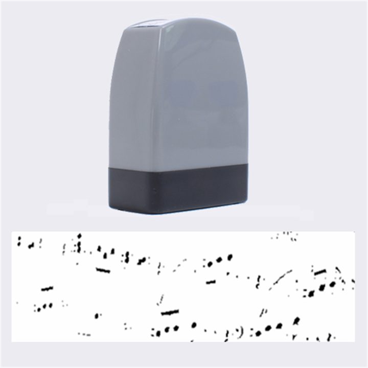 Music Notes Background Name Stamps