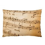 Music Notes Background Pillow Case (Two Sides) Back