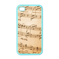 Music Notes Background Apple iPhone 4 Case (Color)
