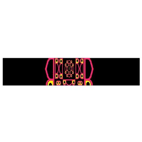 Alphabet Shirt Flano Scarf (Small)