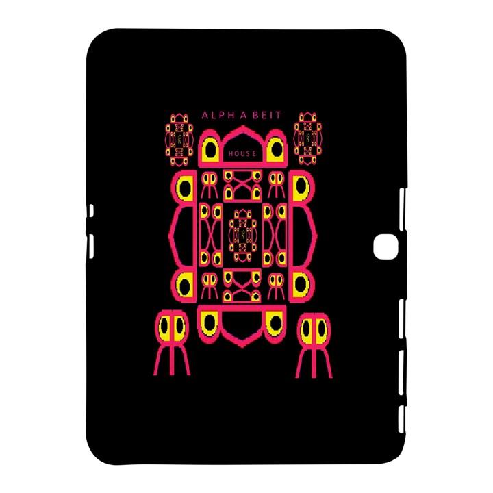 Alphabet Shirt Samsung Galaxy Tab 4 (10.1 ) Hardshell Case