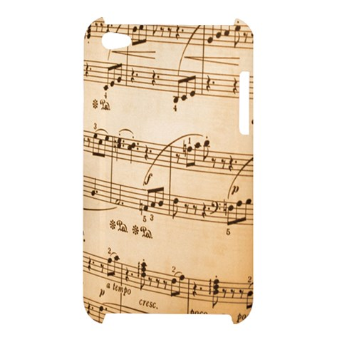 Music Notes Background Apple iPod Touch 4
