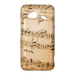 Music Notes Background HTC Droid Incredible 4G LTE Hardshell Case