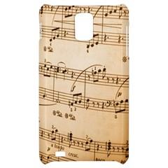 Music Notes Background Samsung Infuse 4G Hardshell Case