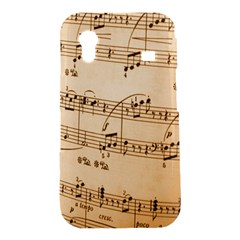 Music Notes Background Samsung Galaxy Ace S5830 Hardshell Case