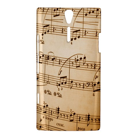 Music Notes Background Sony Xperia S