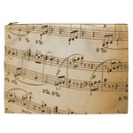 Music Notes Background Cosmetic Bag (XXL)  Front