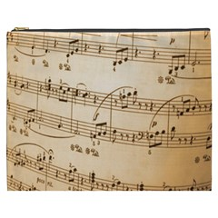Music Notes Background Cosmetic Bag (XXXL)