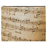 Music Notes Background Cosmetic Bag (XXXL)  Front