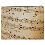 Music Notes Background Cosmetic Bag (XXXL)  Back
