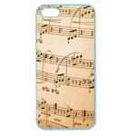 Music Notes Background Apple Seamless iPhone 5 Case (Color) Front
