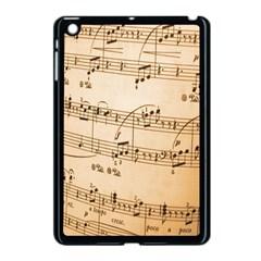 Music Notes Background Apple iPad Mini Case (Black)