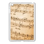 Music Notes Background Apple iPad Mini Case (White) Front