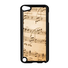 Music Notes Background Apple iPod Touch 5 Case (Black)