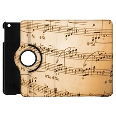 Music Notes Background Apple iPad Mini Flip 360 Case