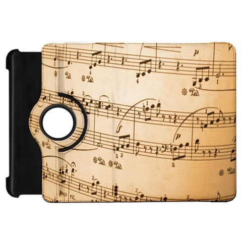 Music Notes Background Kindle Fire HD Flip 360 Case