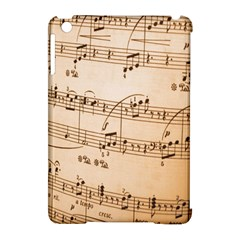 Music Notes Background Apple iPad Mini Hardshell Case (Compatible with Smart Cover)