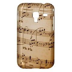 Music Notes Background Samsung Galaxy Ace Plus S7500 Hardshell Case