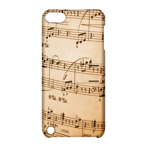 Music Notes Background Apple iPod Touch 5 Hardshell Case with Stand