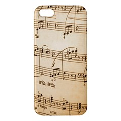 Music Notes Background Apple iPhone 5 Premium Hardshell Case