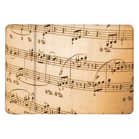 Music Notes Background Samsung Galaxy Tab 8.9  P7300 Flip Case