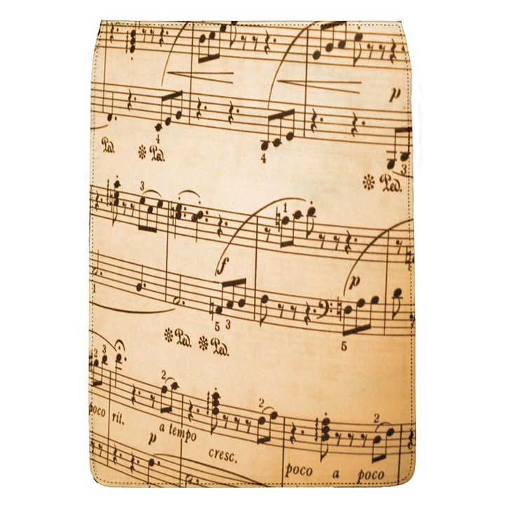 Music Notes Background Flap Covers (L)