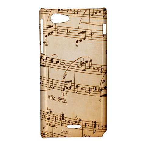 Music Notes Background Sony Xperia J