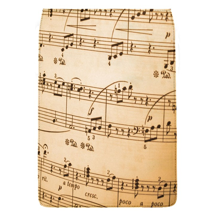 Music Notes Background Flap Covers (S)