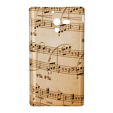 Music Notes Background Sony Xperia ZL (L35H)