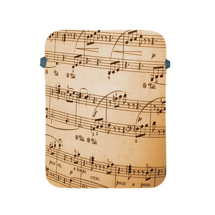 Music Notes Background Apple iPad 2/3/4 Protective Soft Cases