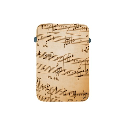 Music Notes Background Apple iPad Mini Protective Soft Cases