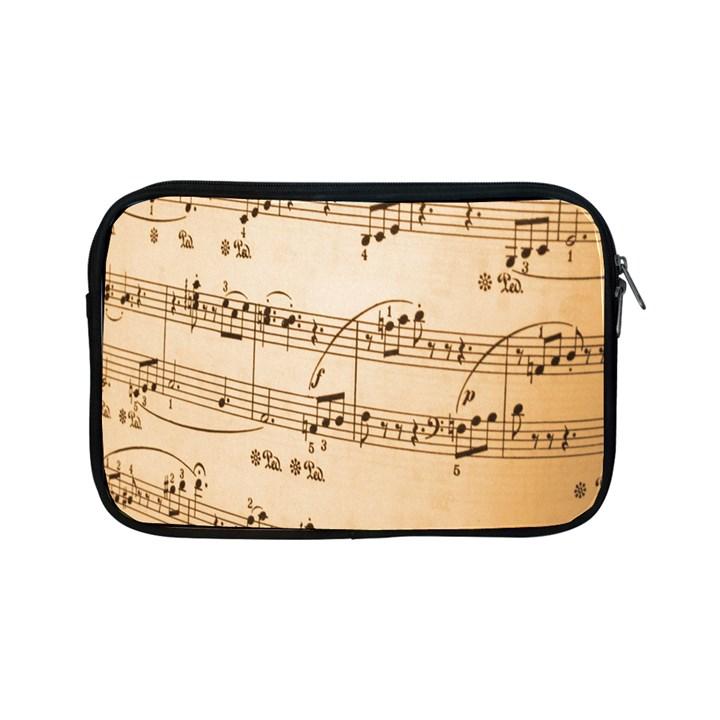 Music Notes Background Apple iPad Mini Zipper Cases