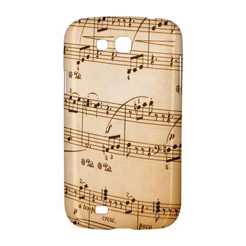 Music Notes Background Samsung Galaxy Grand GT-I9128 Hardshell Case