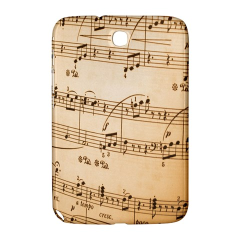 Music Notes Background Samsung Galaxy Note 8.0 N5100 Hardshell Case