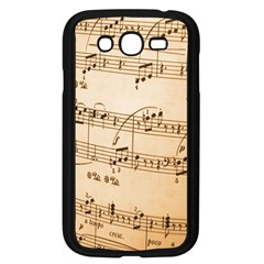 Music Notes Background Samsung Galaxy Grand DUOS I9082 Case (Black)
