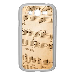 Music Notes Background Samsung Galaxy Grand DUOS I9082 Case (White)