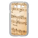 Music Notes Background Samsung Galaxy Grand DUOS I9082 Case (White) Front