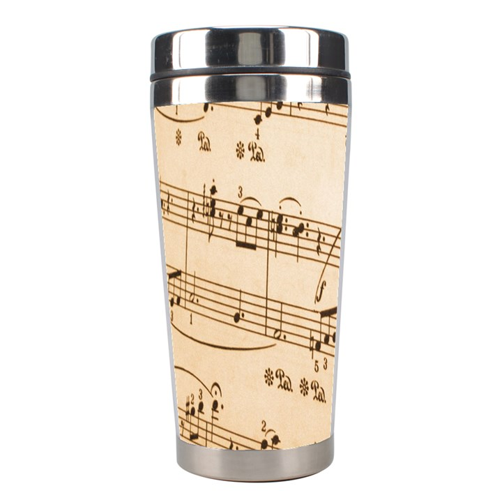 Music Notes Background Stainless Steel Travel Tumblers