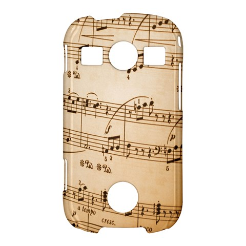 Music Notes Background Samsung Galaxy S7710 Xcover 2 Hardshell Case