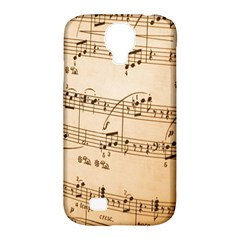 Music Notes Background Samsung Galaxy S4 Classic Hardshell Case (PC+Silicone)