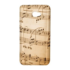 Music Notes Background HTC Butterfly S/HTC 9060 Hardshell Case