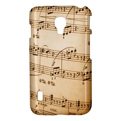 Music Notes Background LG Optimus L7 II