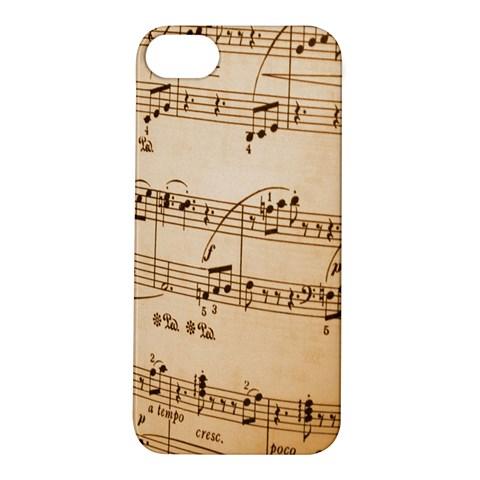 Music Notes Background Apple iPhone 5S/ SE Hardshell Case