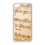 Music Notes Background Apple iPhone 5C Seamless Case (White) Front