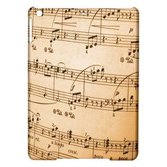 Music Notes Background iPad Air Hardshell Cases