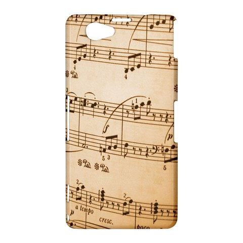 Music Notes Background Sony Xperia Z1 Compact